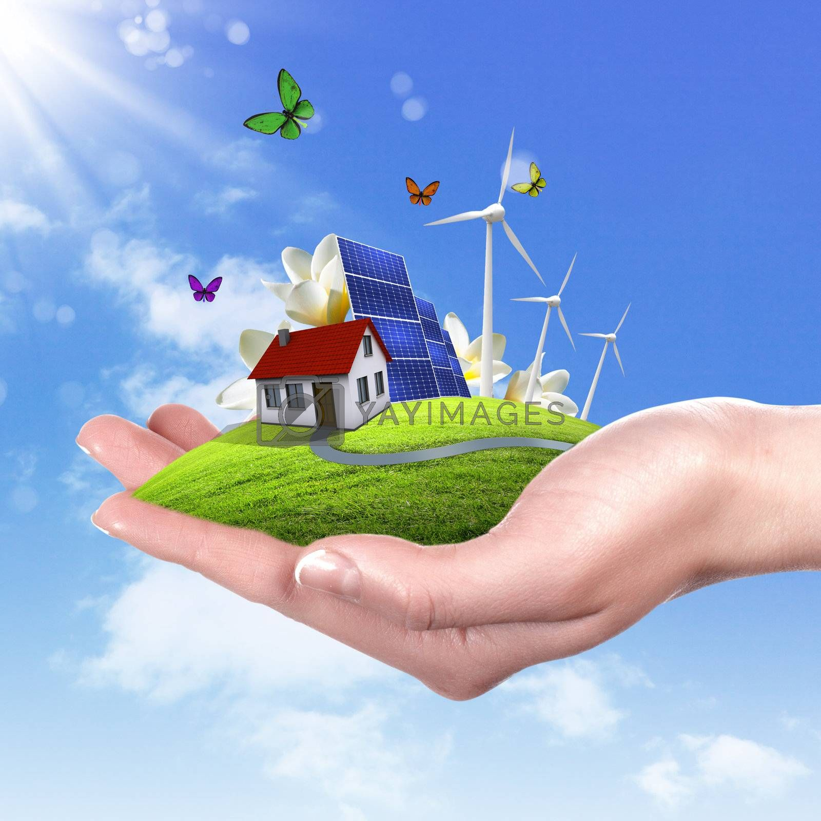 Ecology and safe energy by Sergey Nivens