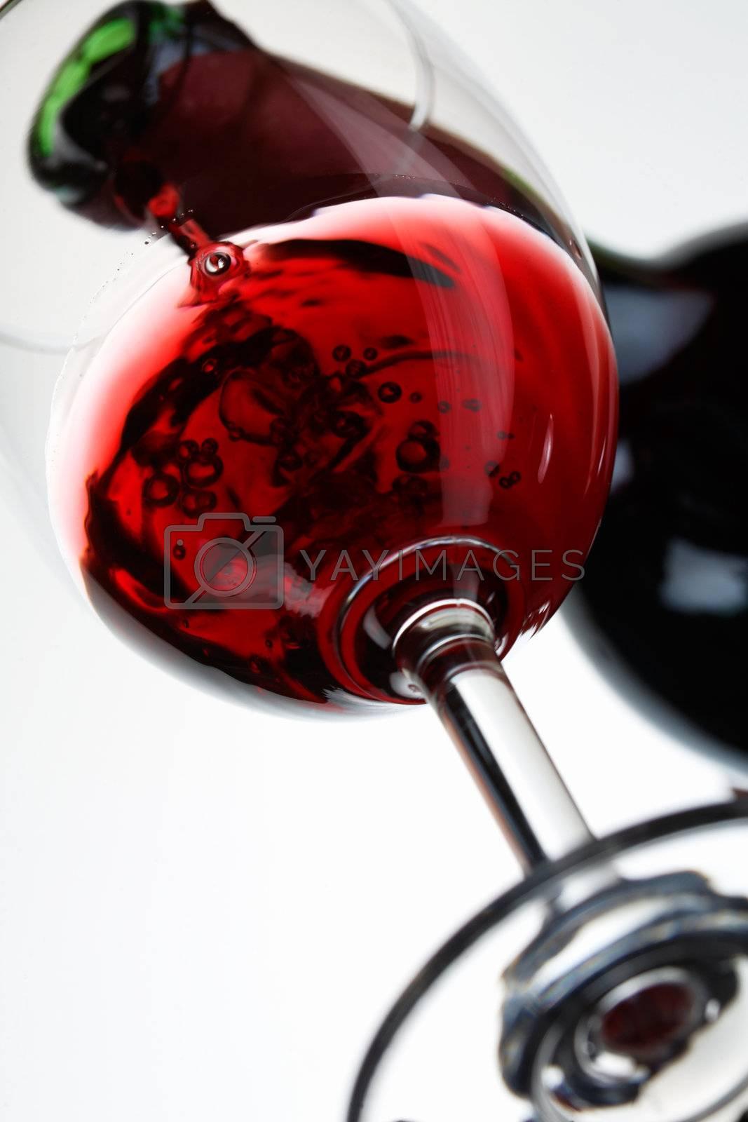 Pouring Wine by romanshyshak