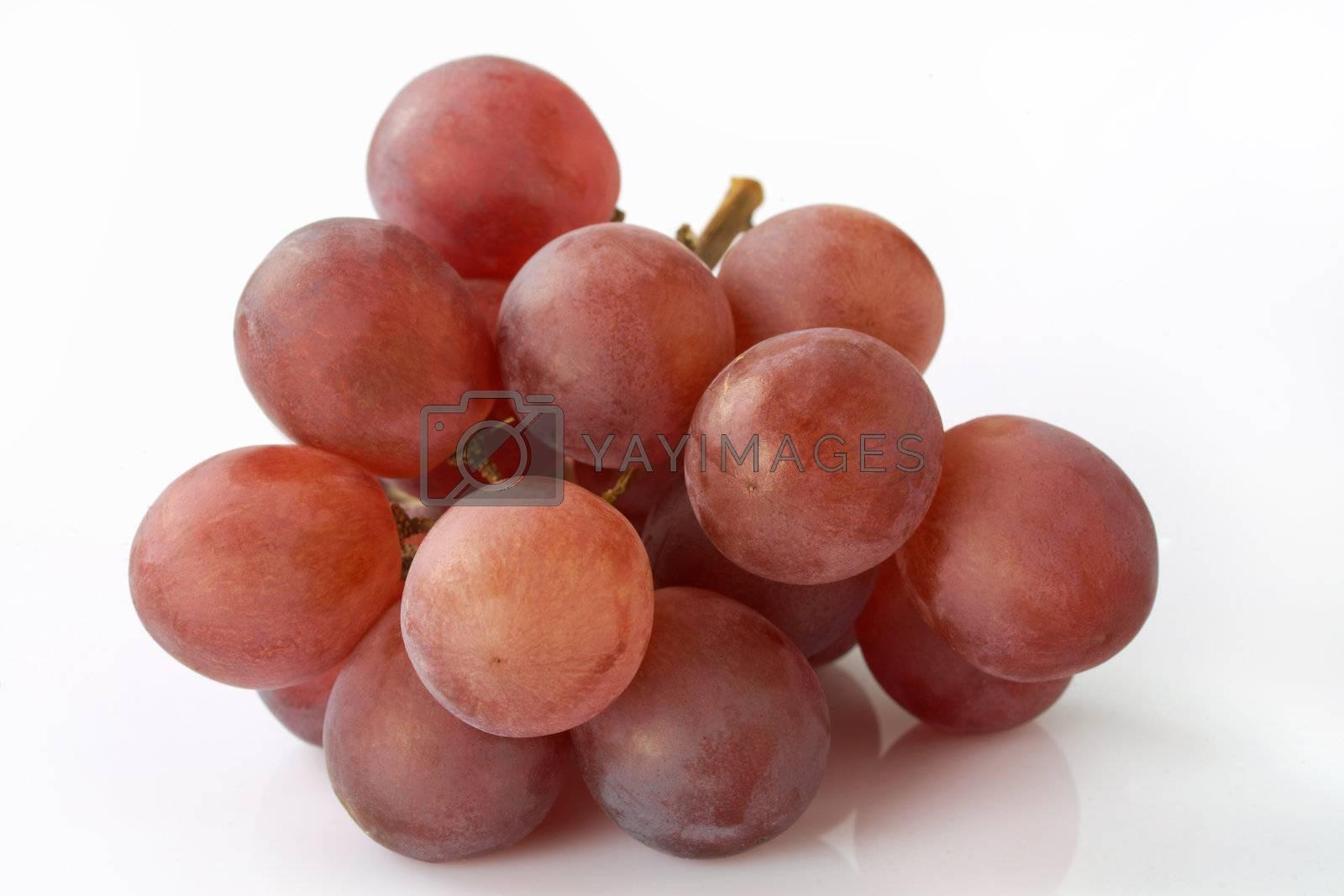 Red Grapes heap by romanshyshak