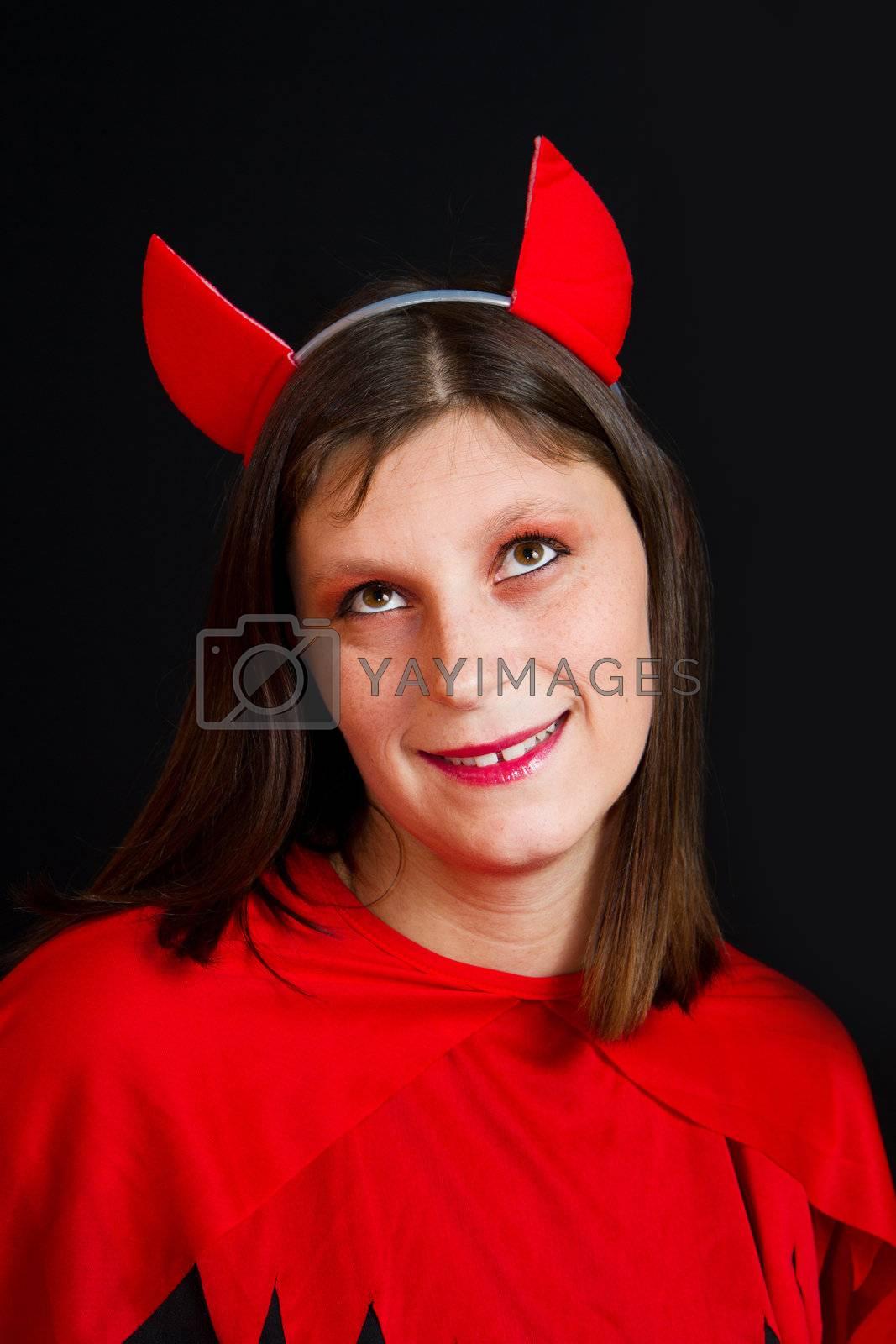 young devil woman  by lsantilli