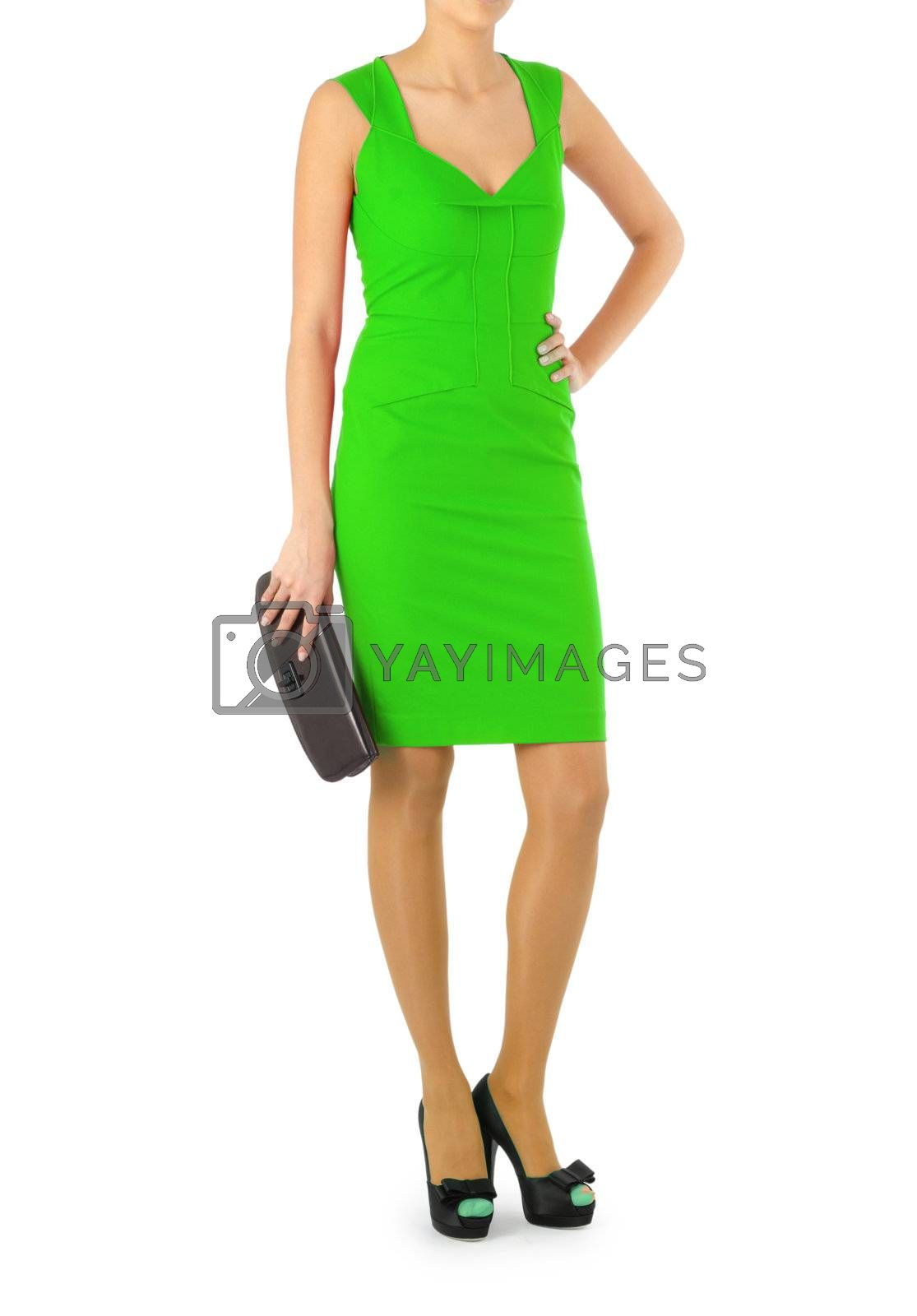 Attractive model in fashion concept by Elnur