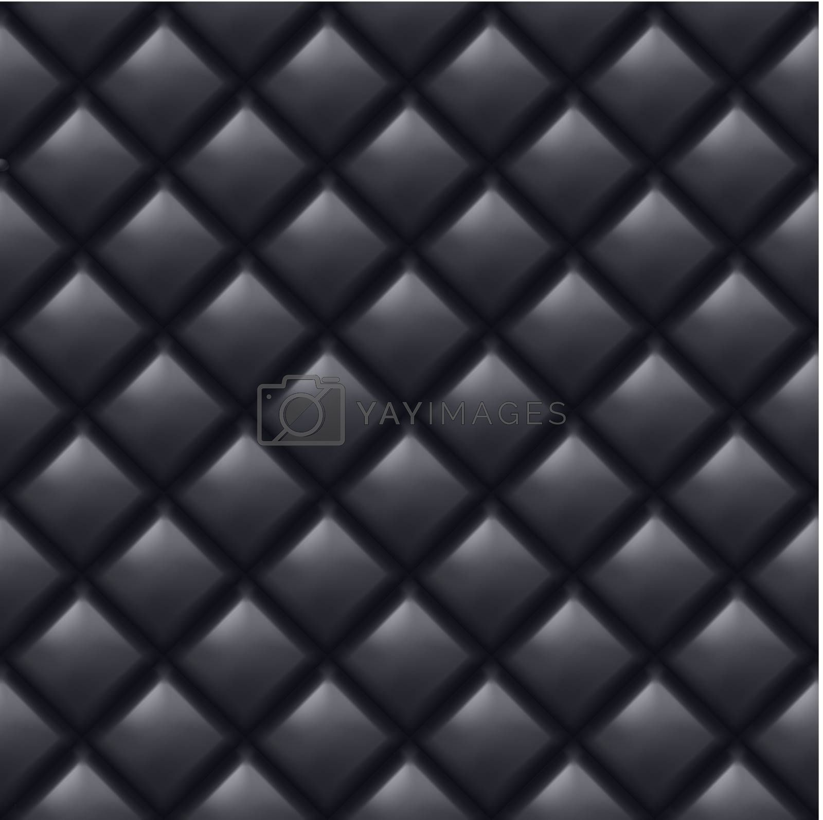 Seamless texture of abstract black wall. Illustration of designer