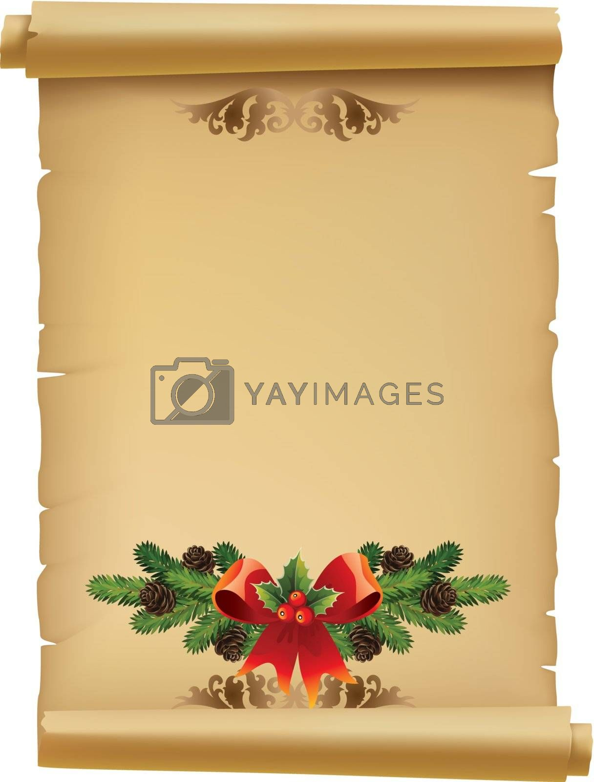 Illustration Letter for Santa Claus