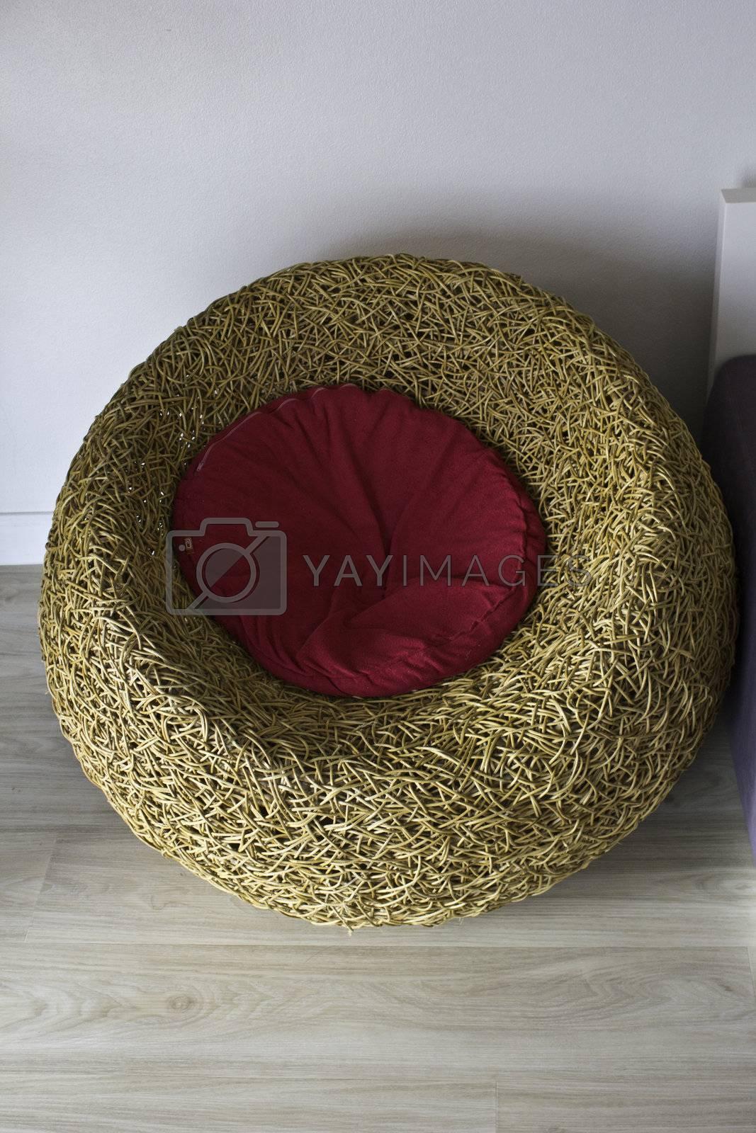rattan chair nature design