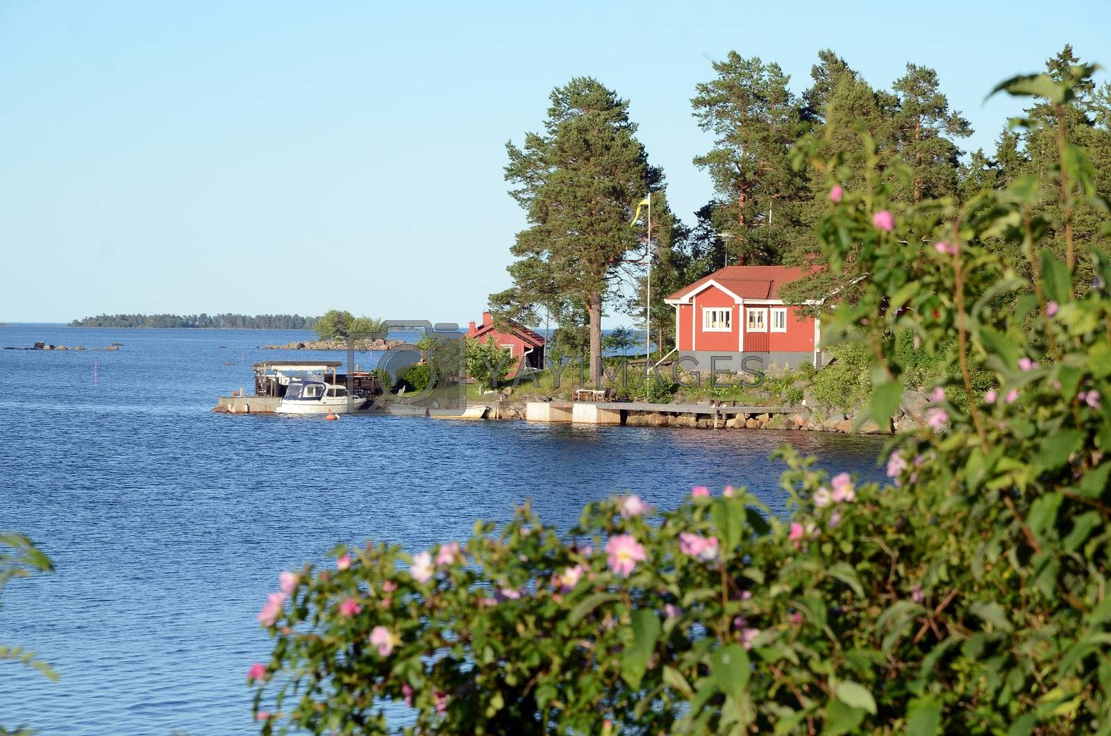 An idyllic cottage in the archipelago