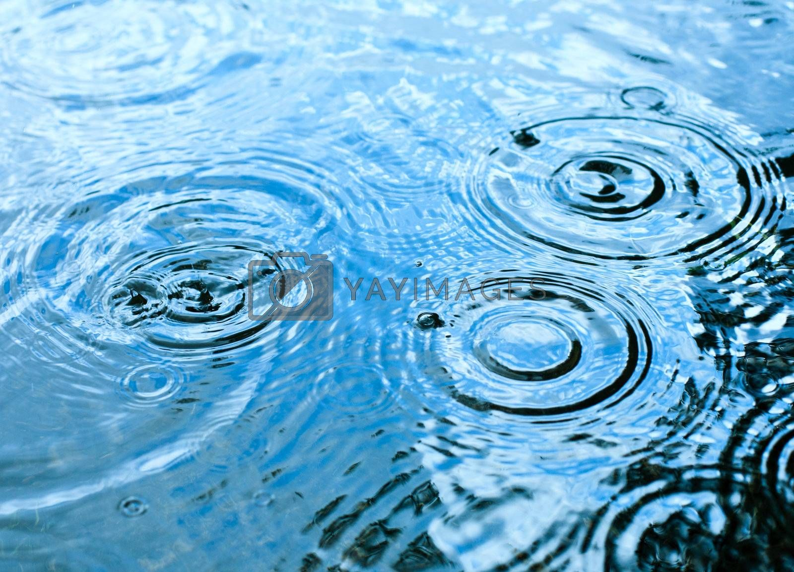 Rainy weather by naumoid