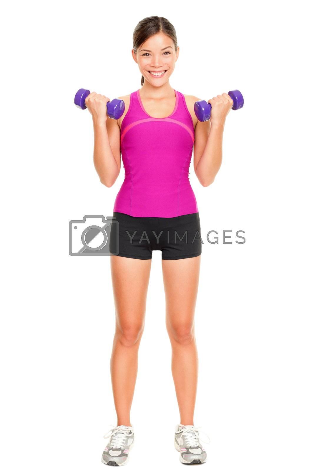 Sport fitness woman by Ariwasabi