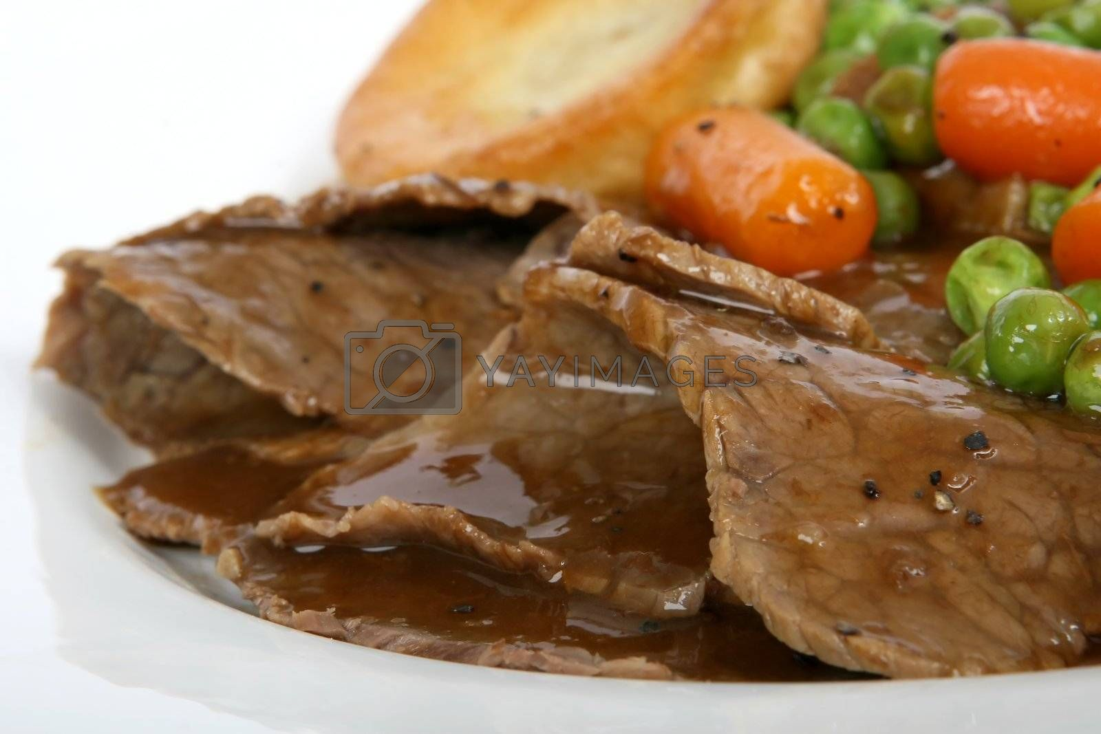 Traditional English roast