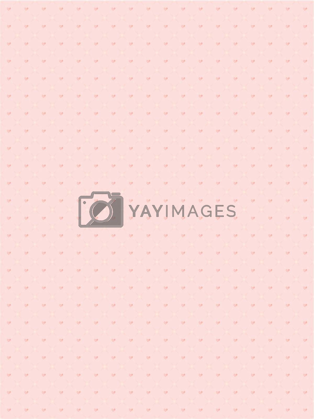 abstract seamless background for Day of Valentine