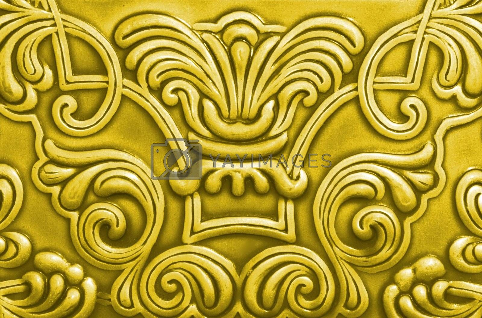 Abstract background of sheet of iron