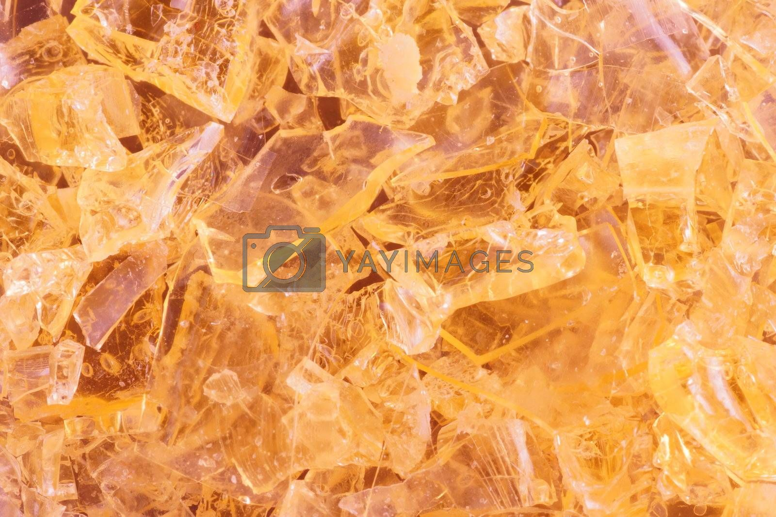 close-up shot of a colorful crystalbackground