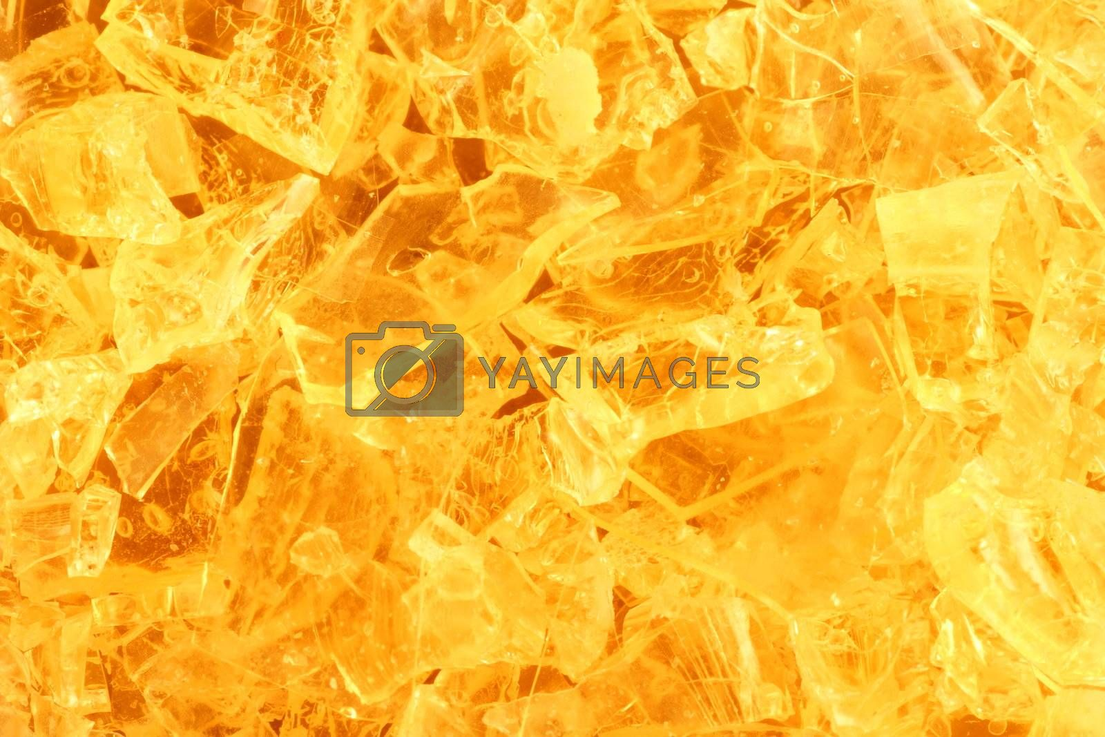 close-up shot of a colorful crystal background