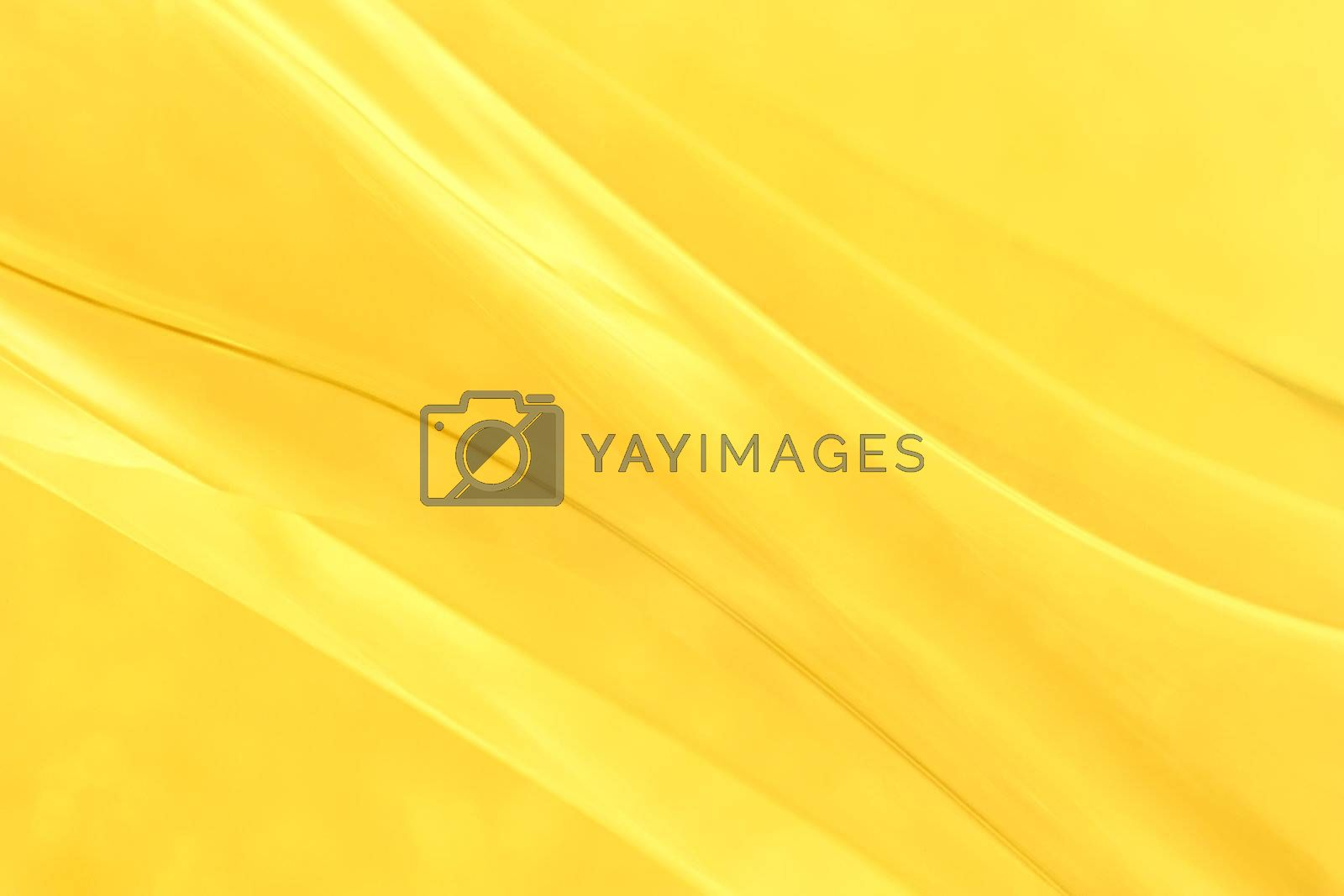 close-up shot of abstract golden glass background