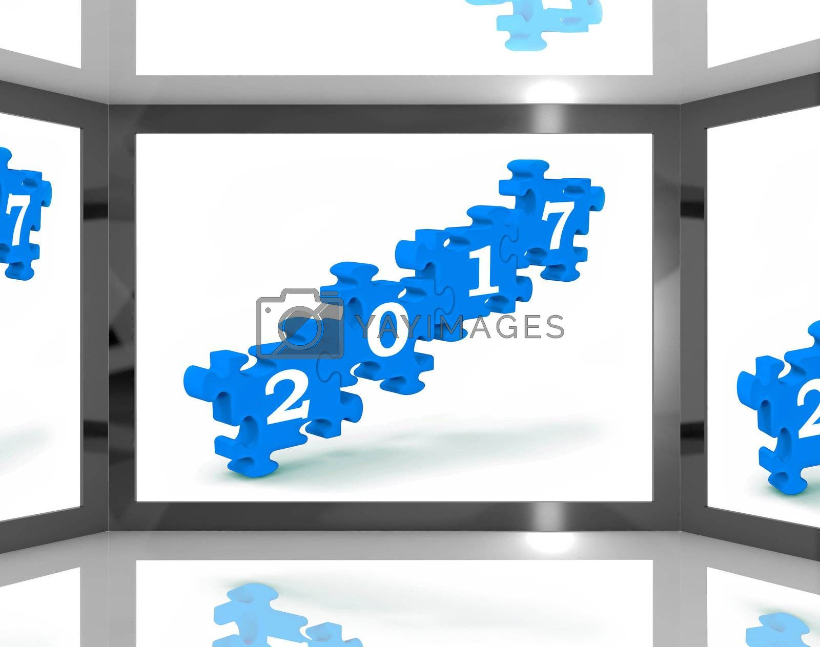2017 On Screen Showing Future Calendars And Resolutions