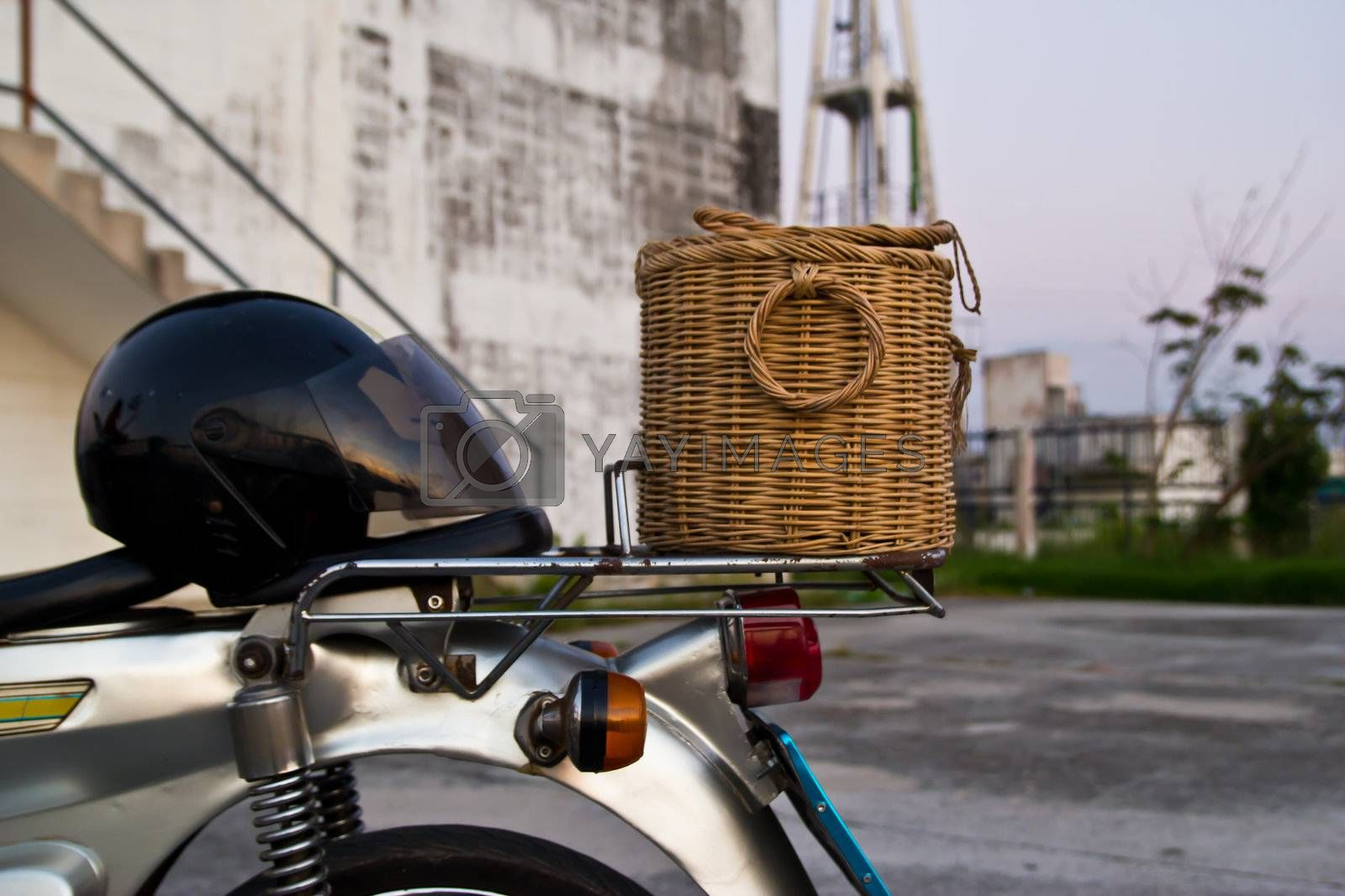 old motorcycle