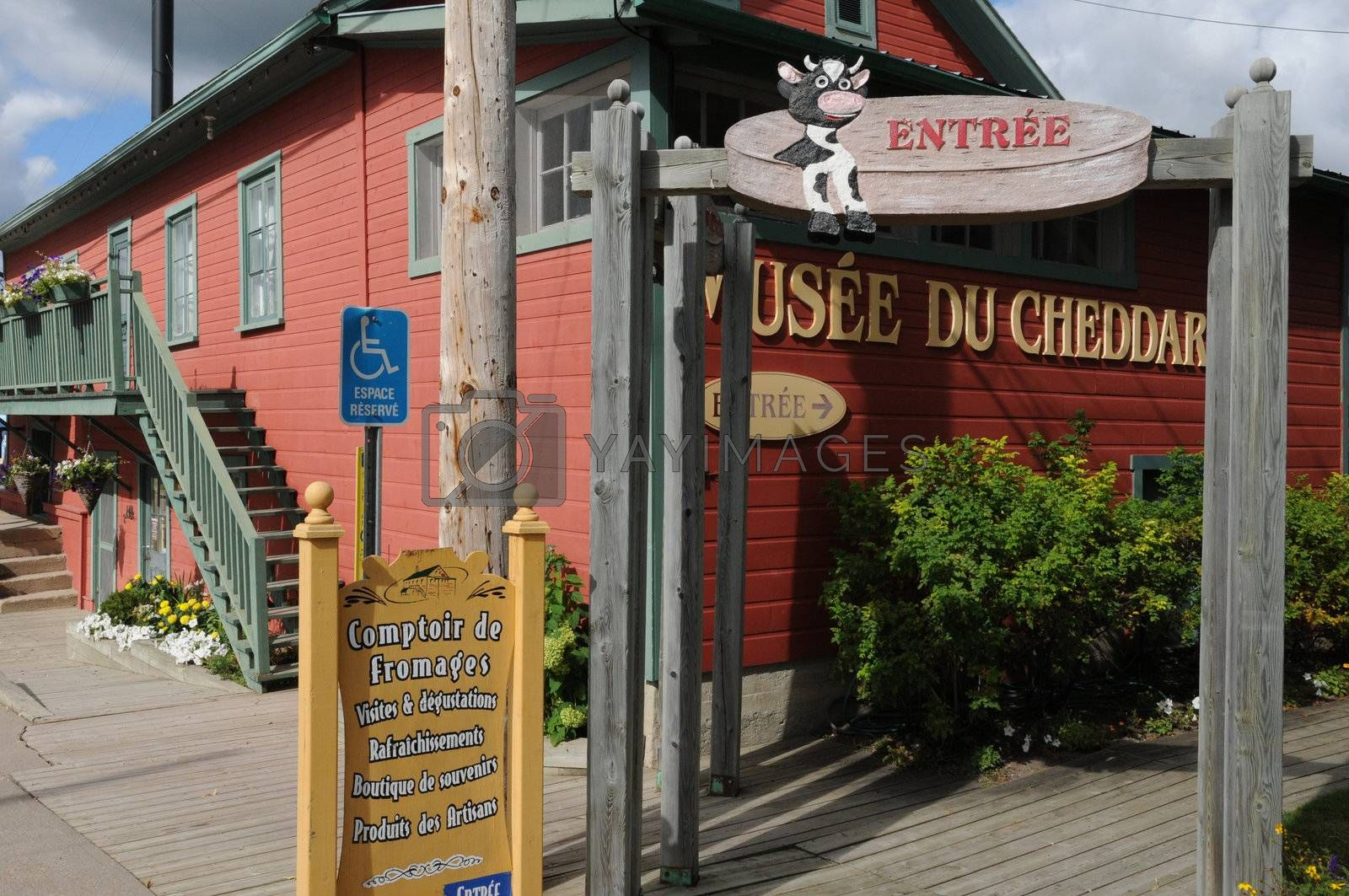 Canada, Quebec, cheese dairy Perron in Saint Prime
