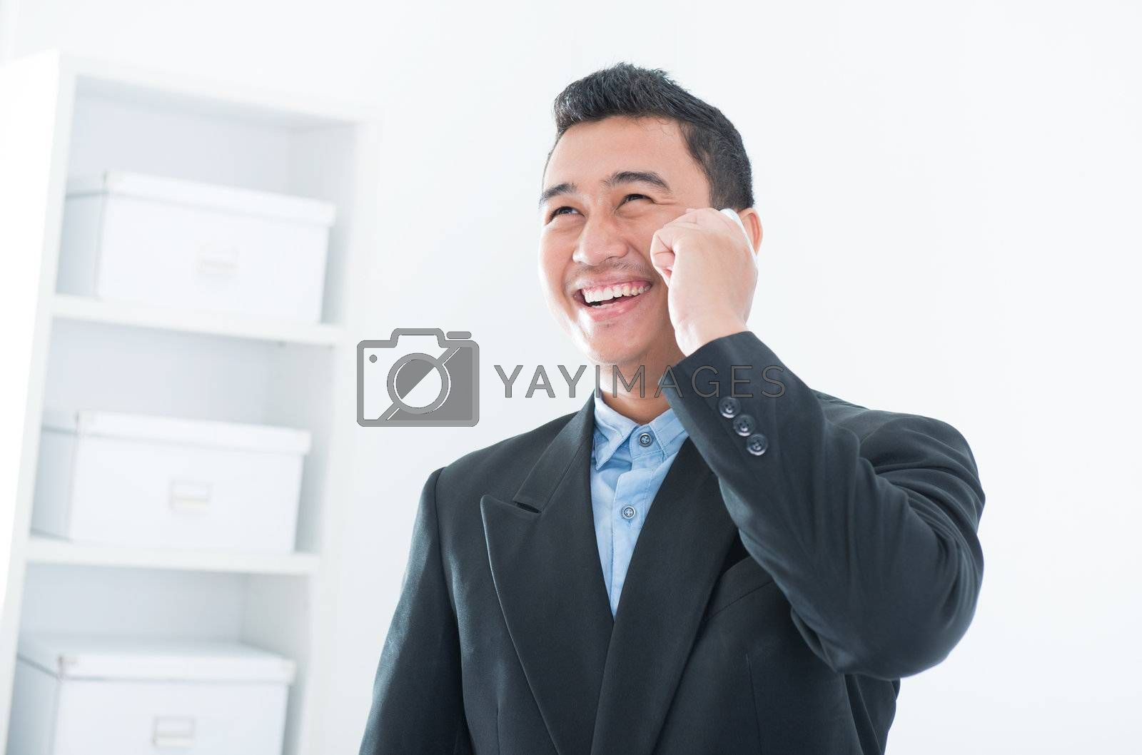 Royalty free image of Business communication by szefei