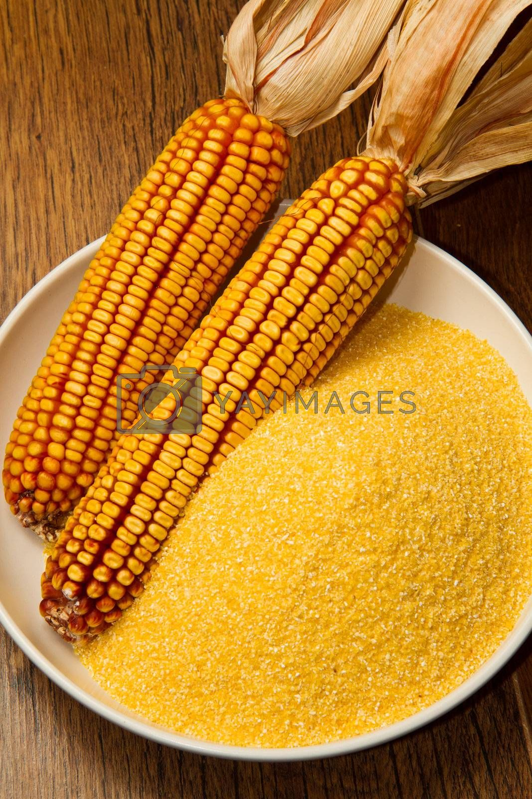 Still life with maize products