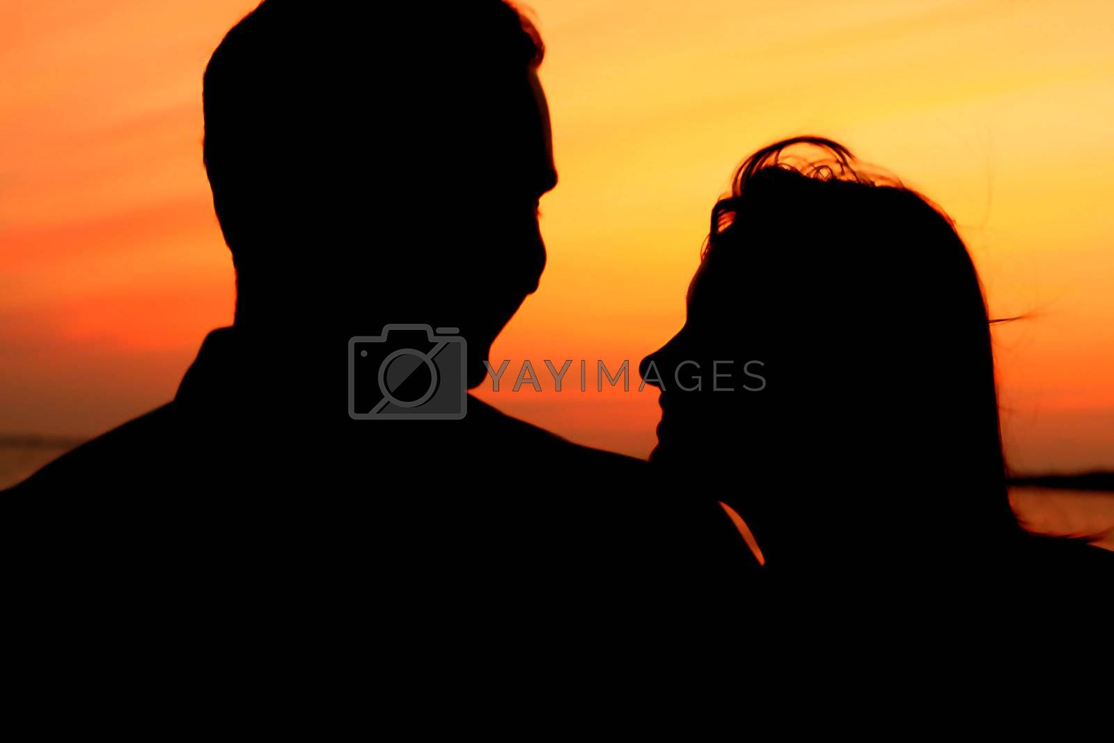 Royalty free image of sunset love by Yellowj