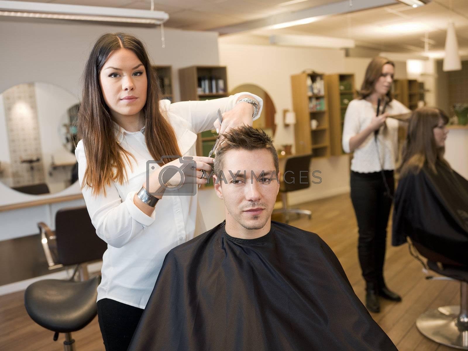 Beauty salon situation by gemenacom
