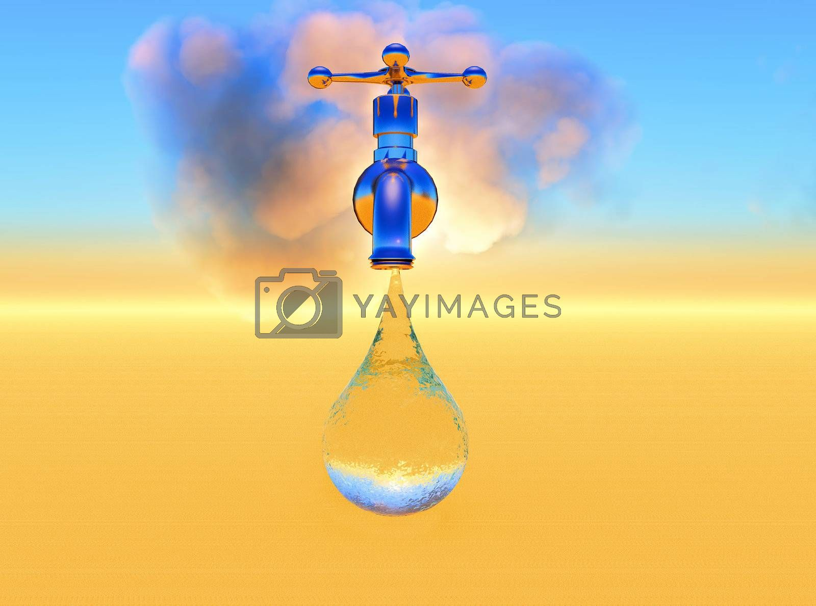 conceptual composition of water