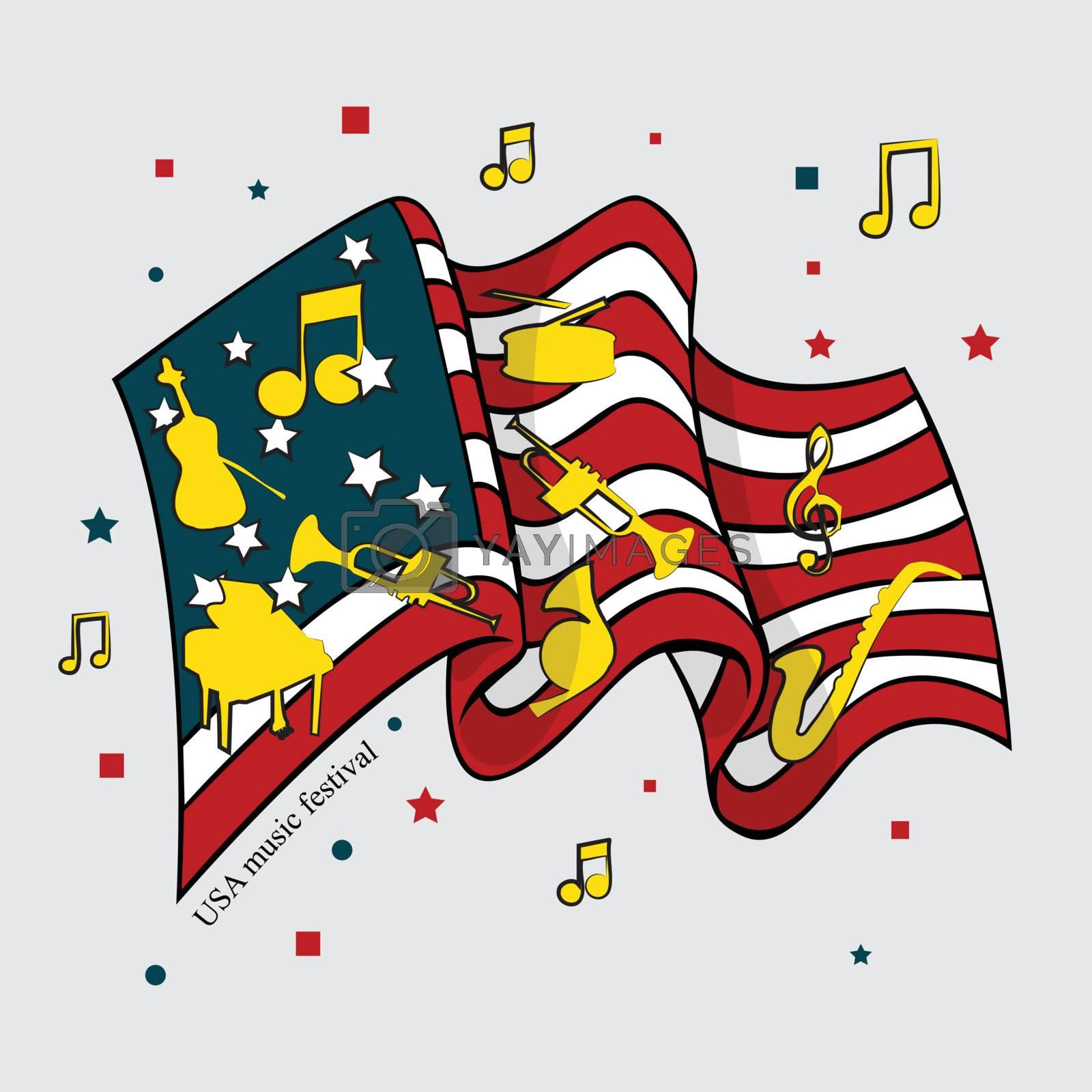 Flag of American Music Festival