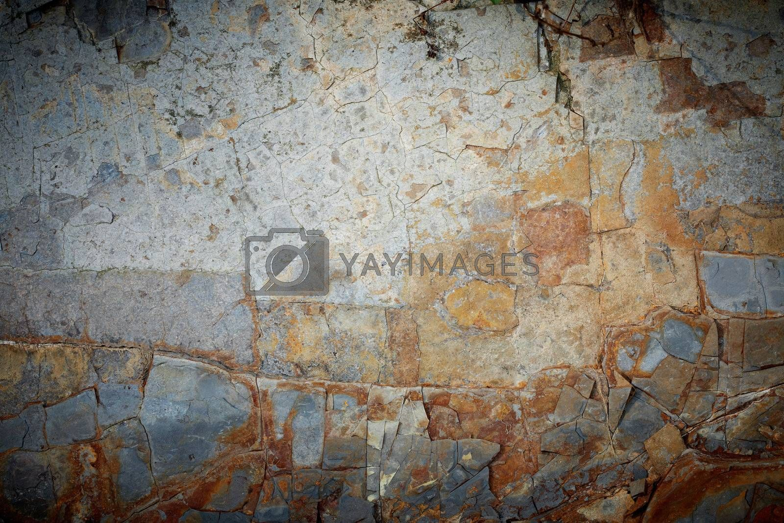 Closeup picture of a slate texture.