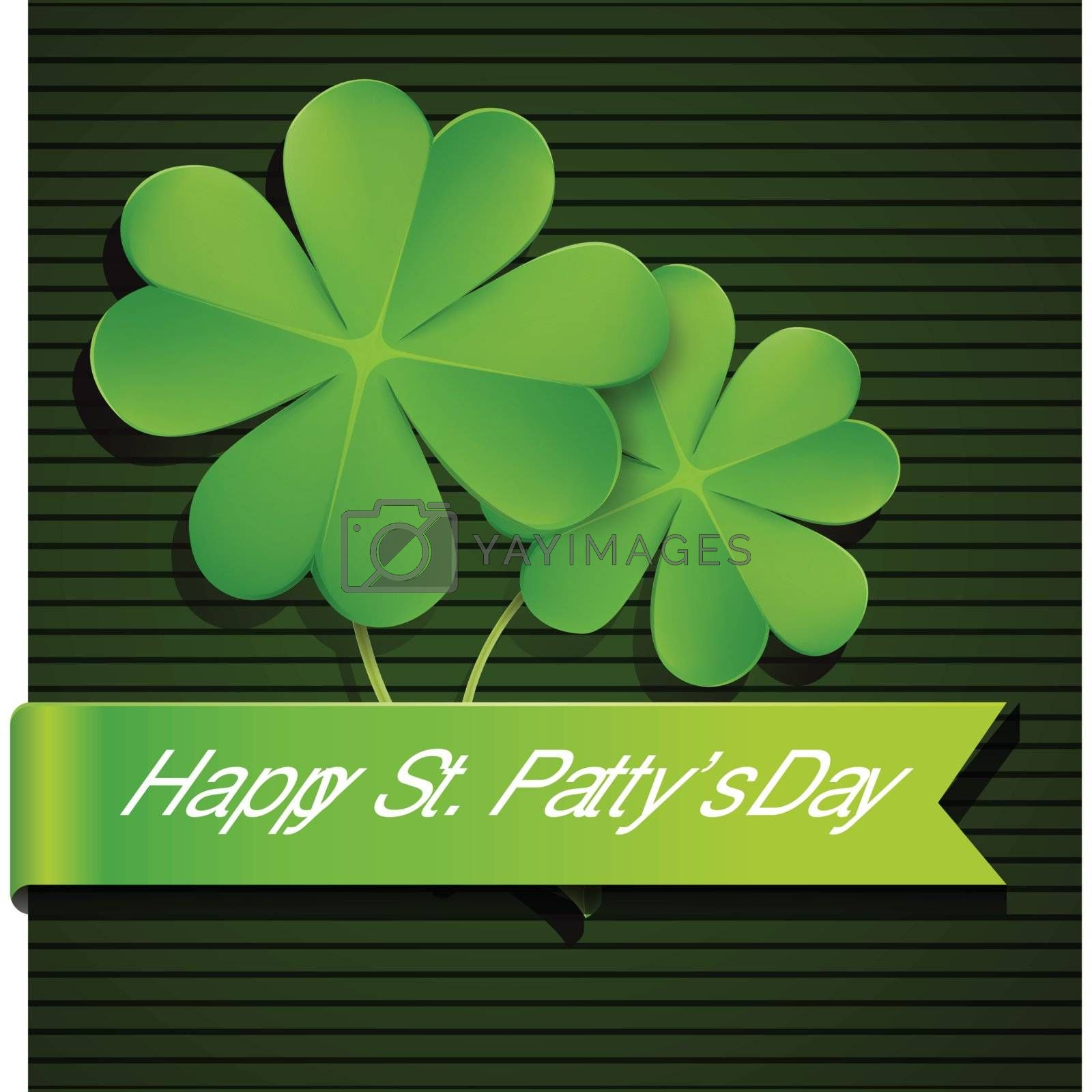 Shamrock, clover design, perfect for St  Patrick s Day by nirots
