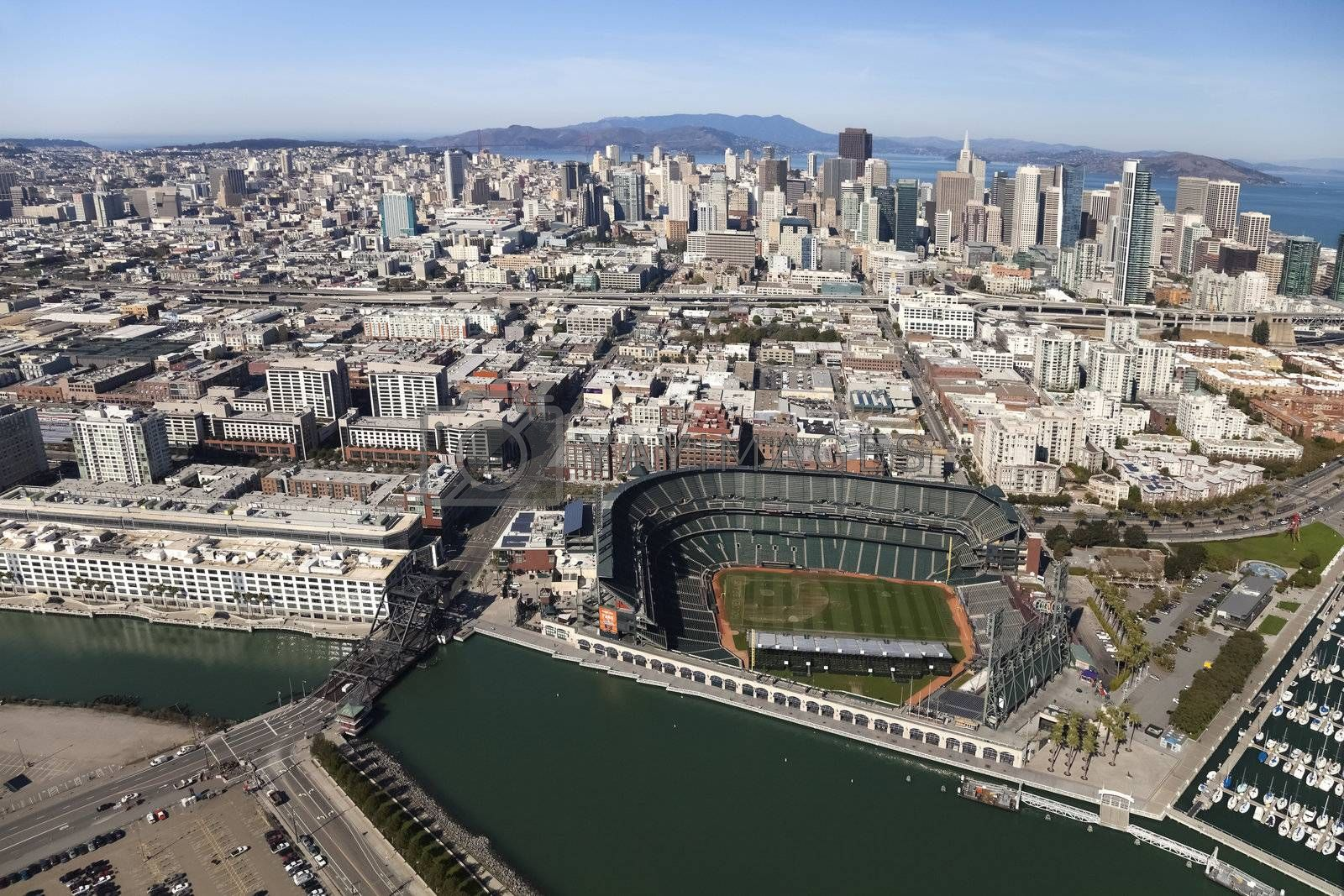 SAN FRANCISCO, CA, USA-OCTOBER 26:San Francisco Giants Stadium on October 26, 2011 at AT&T Park San Francisco California. The Baseball team is Worldseries Champion for 2012