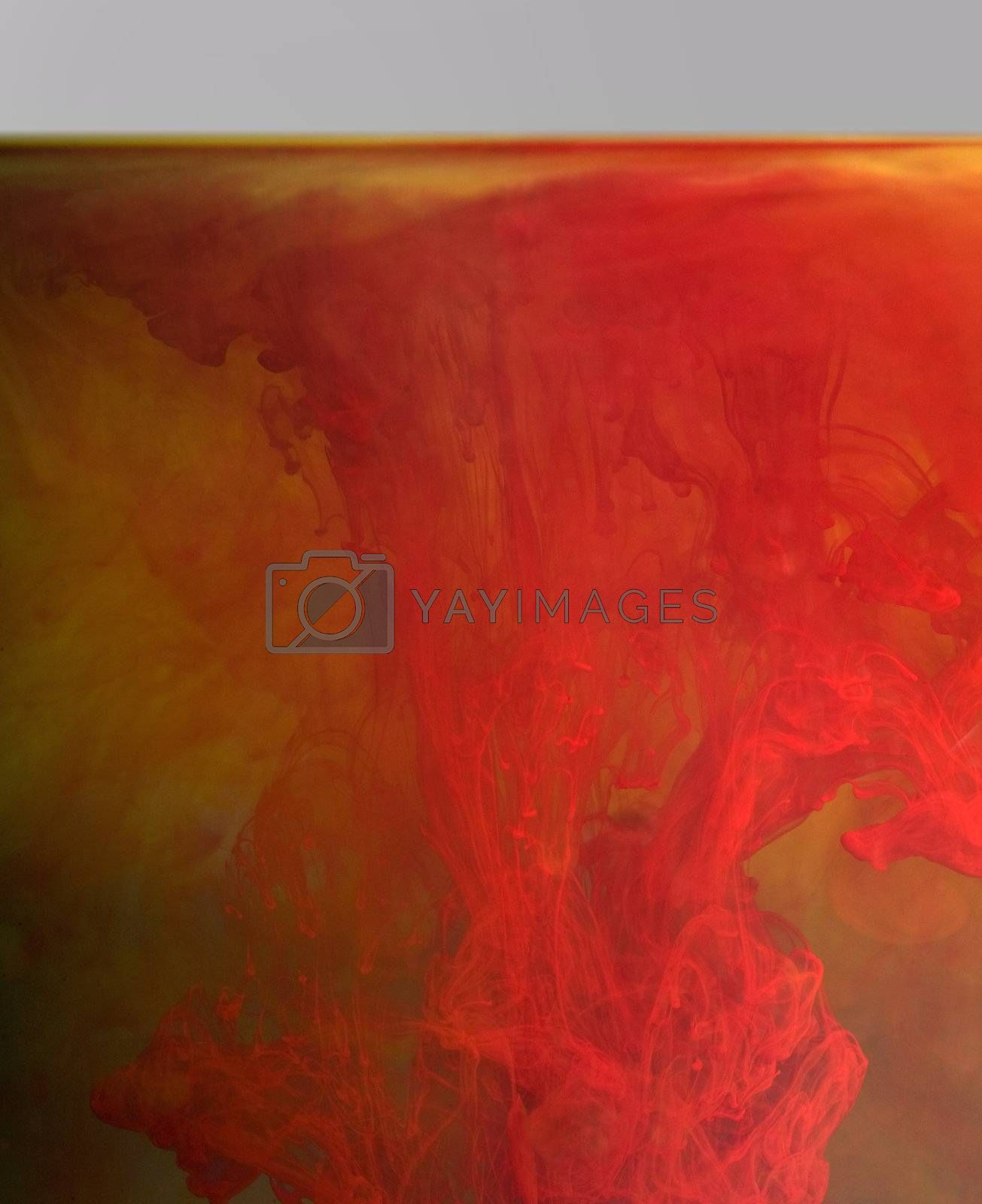 abstract floating color background