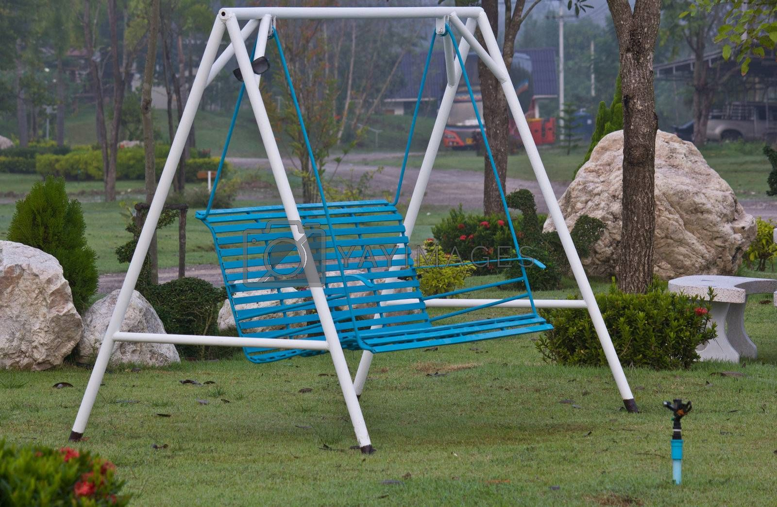 swing in the playpark