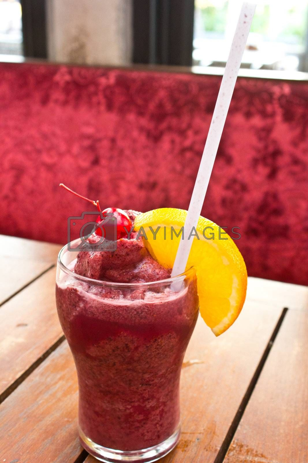 very delicious blue berry smoothies