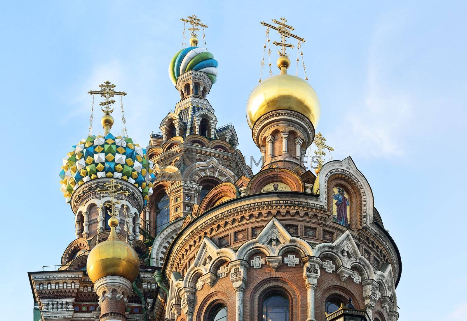 """Royalty free image of St. Petersburg, Russia, """"Spas at Blood"""" by grauvision"""