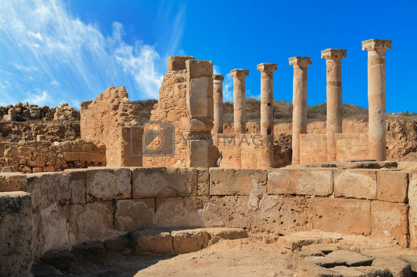 Royalty free image of Ancient Greek columns by grauvision
