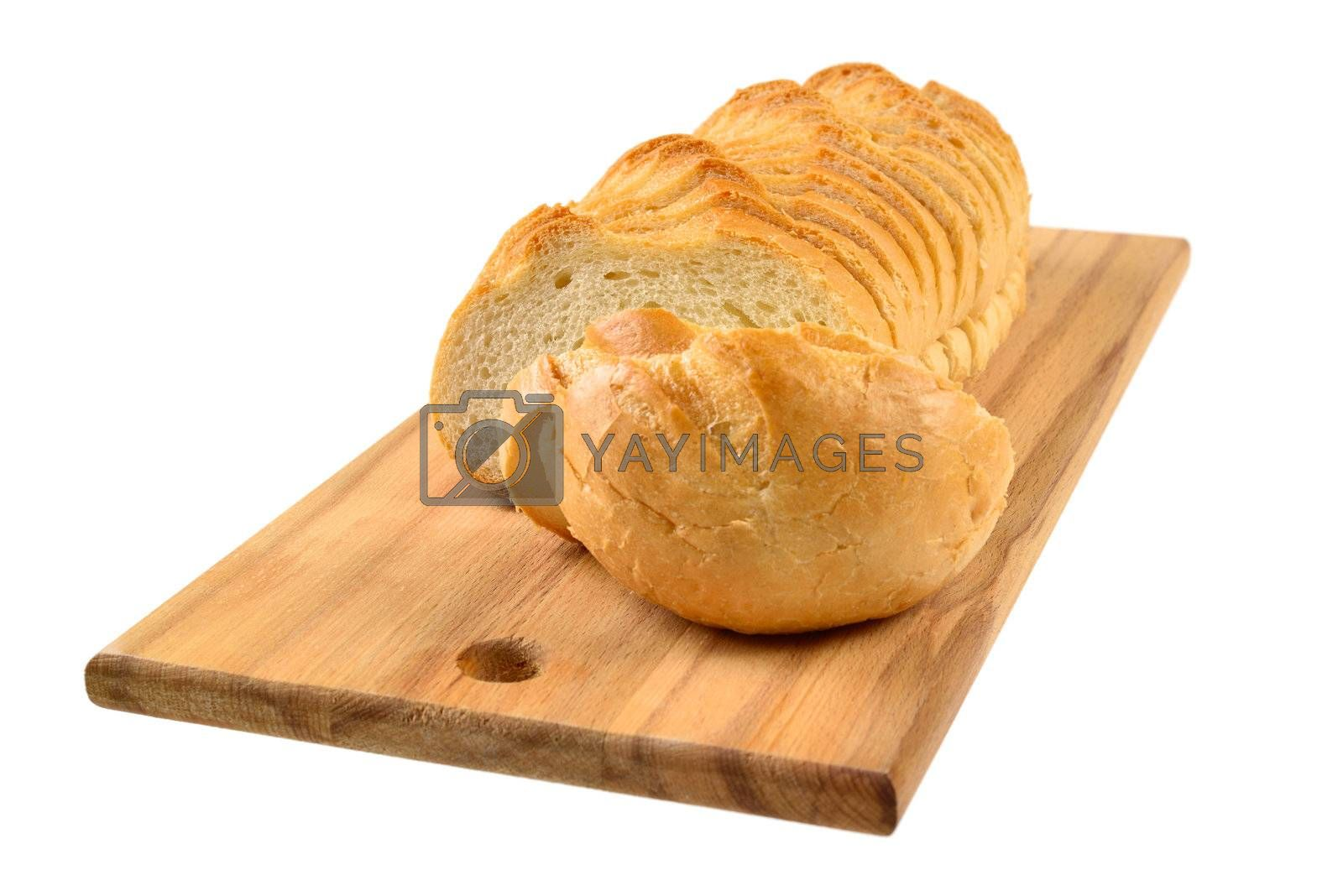 Royalty free image of Sliced bread by grauvision