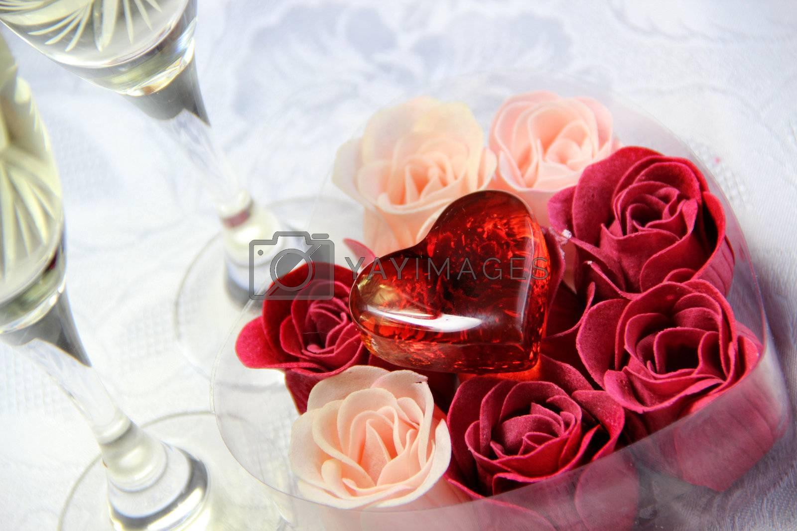 Wedding and Valentine's Day decoration