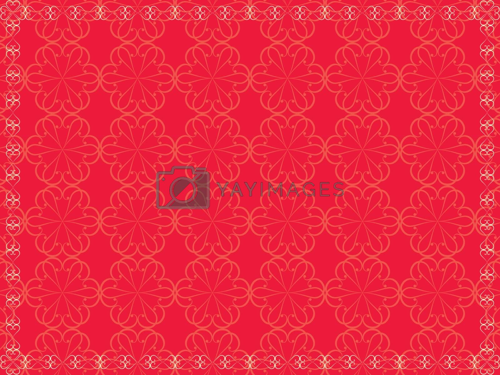 abstract vintage background for Valentines Day