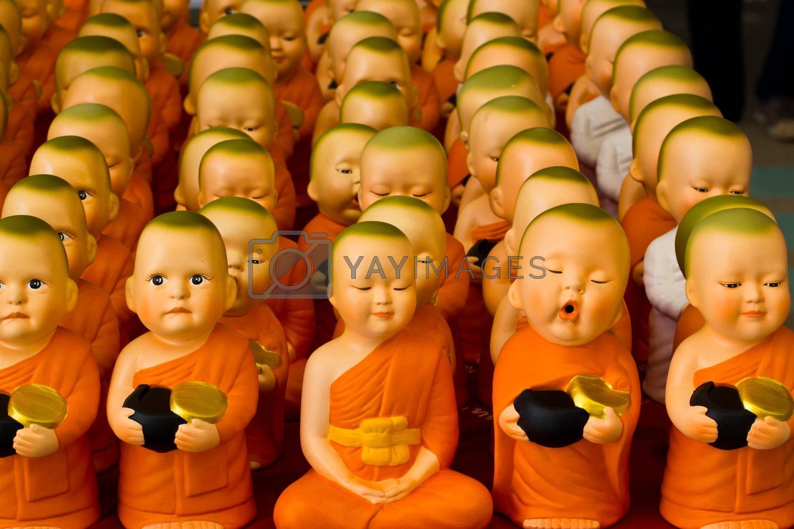 saving doll ceramic novitiate box ,