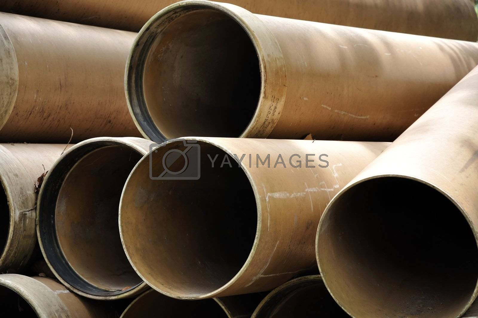 A tube, or tubing, is a long hollow cylinder used to convey fluids (liquids or gases).