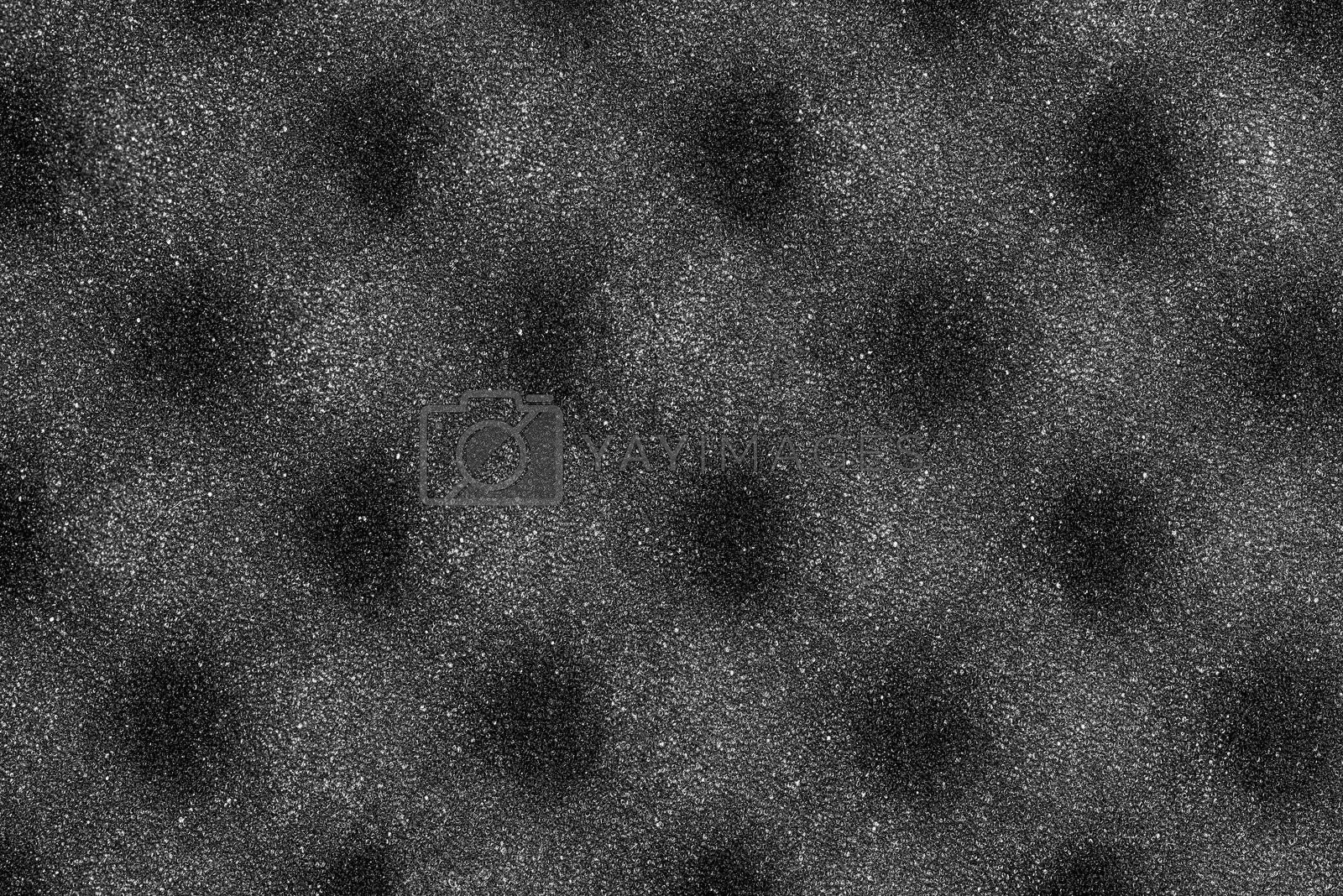 Foam background texture made with egg crate foam