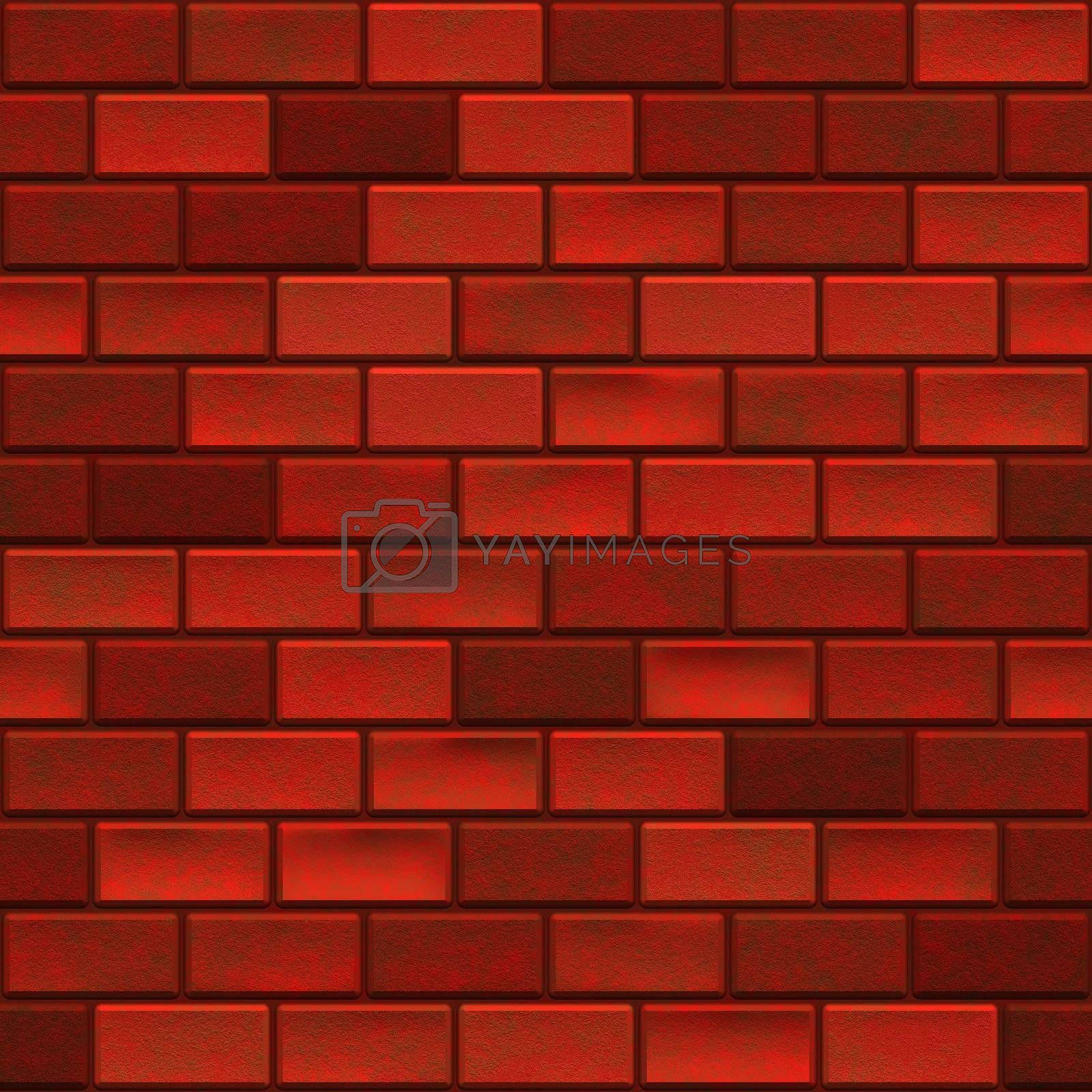 Background of brick wall texture seamless