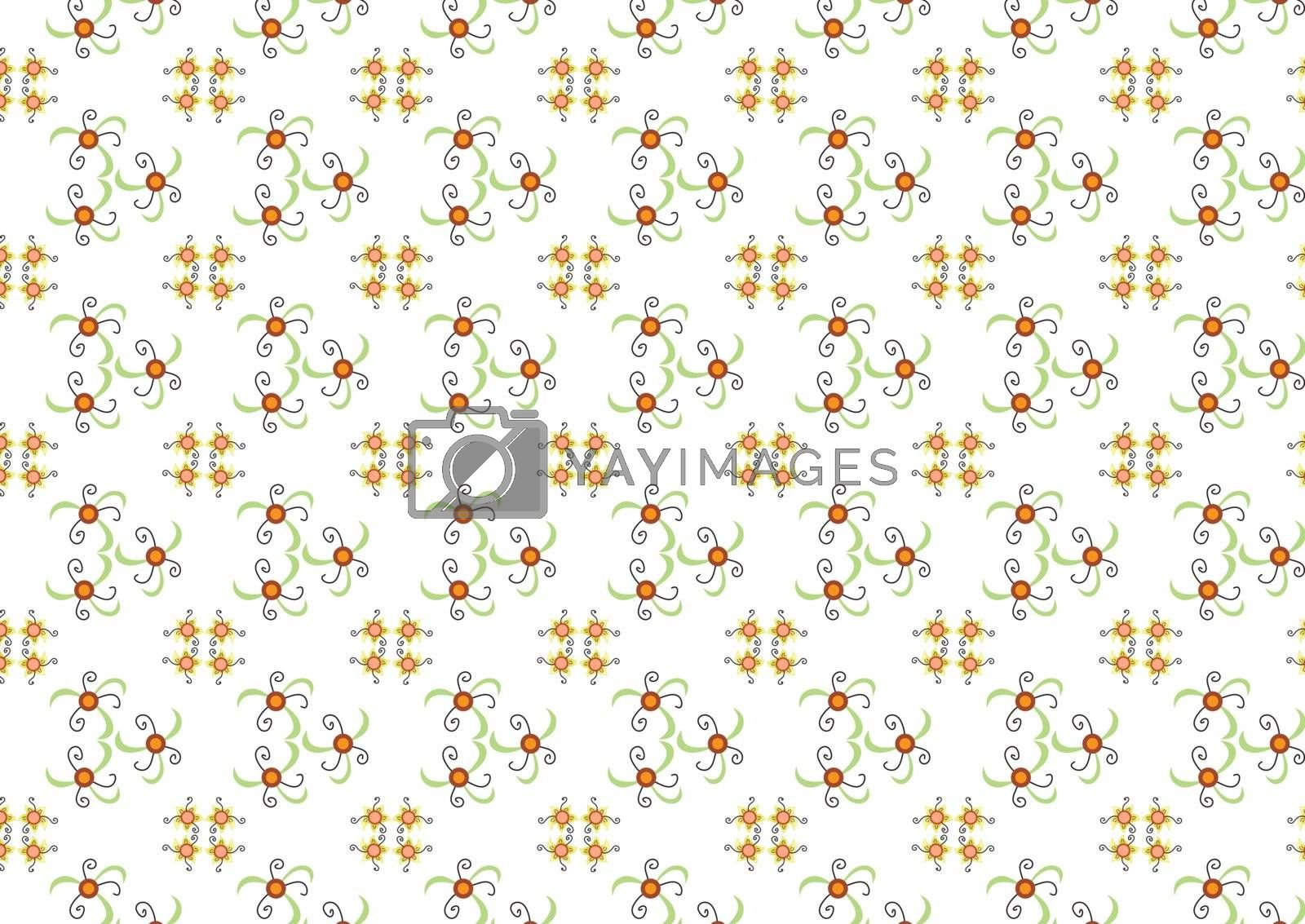 pattern for the background