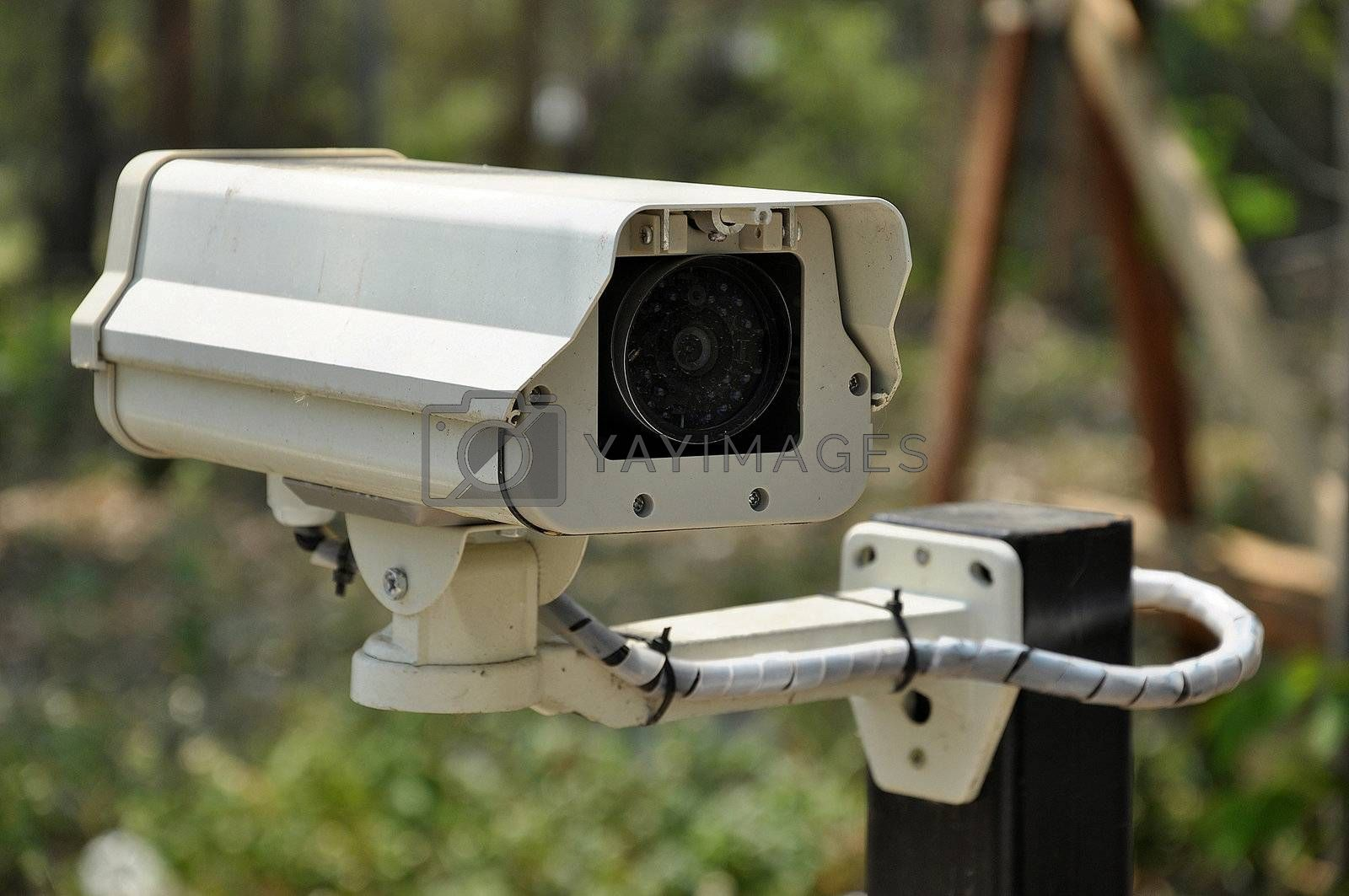 Closed-circuit television (CCTV) is the use of video cameras to transmit a signal to a specific place, on a limited set of monitors.