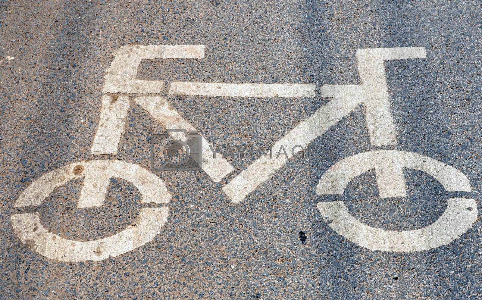 Bike lanes and road shoulders demarcated by a painted marking are quite common both in many European and American cities.