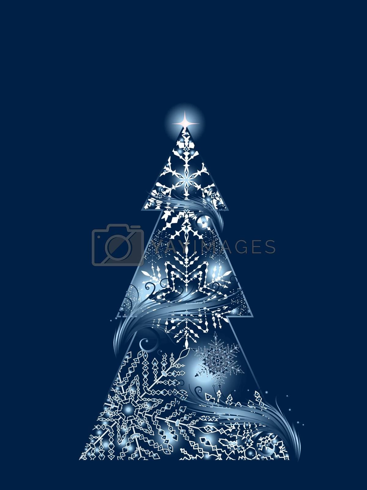 Blue Magic Tree