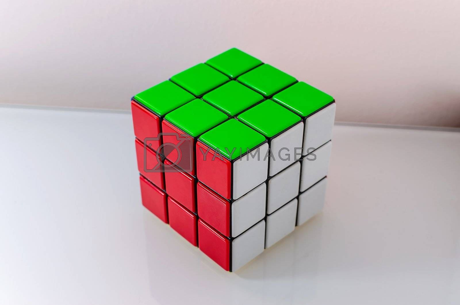 Successfully Solved Rubiks Cube, Problem Solving Concept