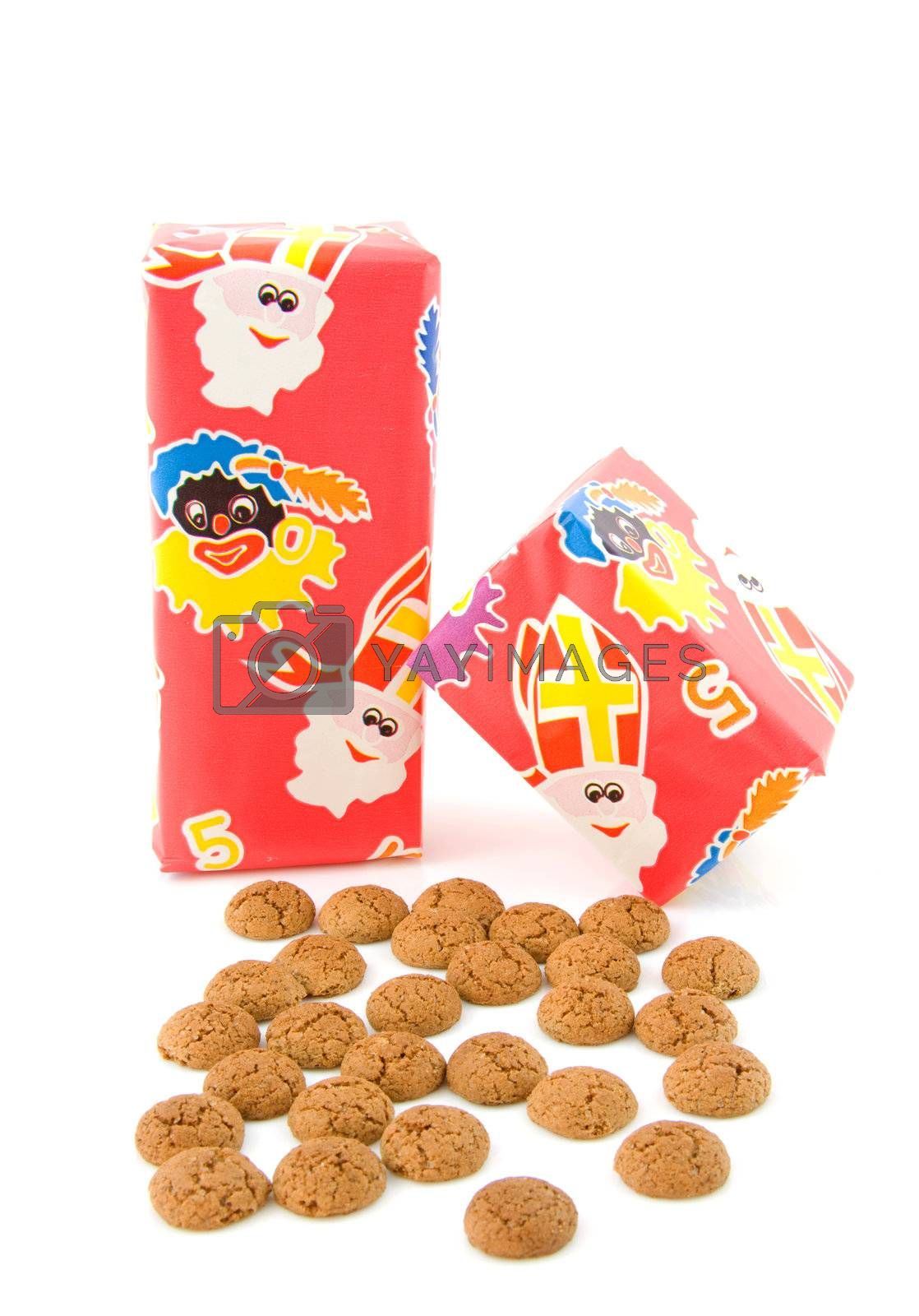 Typical Dutch celebration: Sinterklaas with surprise and ginger nuts