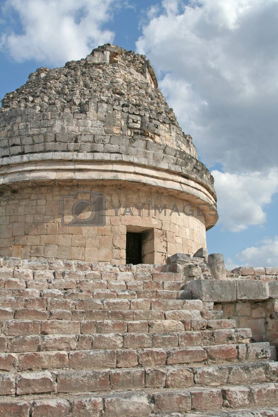 El Caracol is an astronomical observatory at Chichen Itza (Mayan ruins) in Mexico.