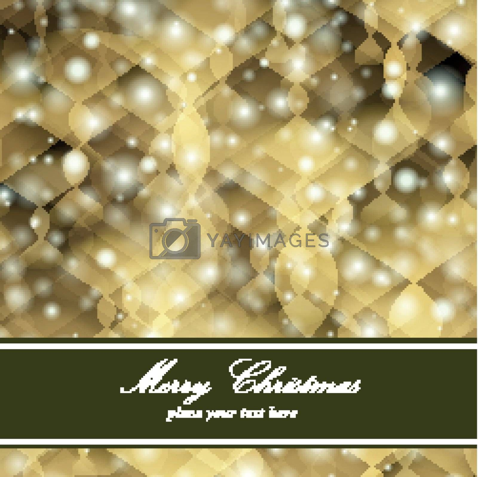 Vector background showing a theme of happy new year and merry Christmas.
