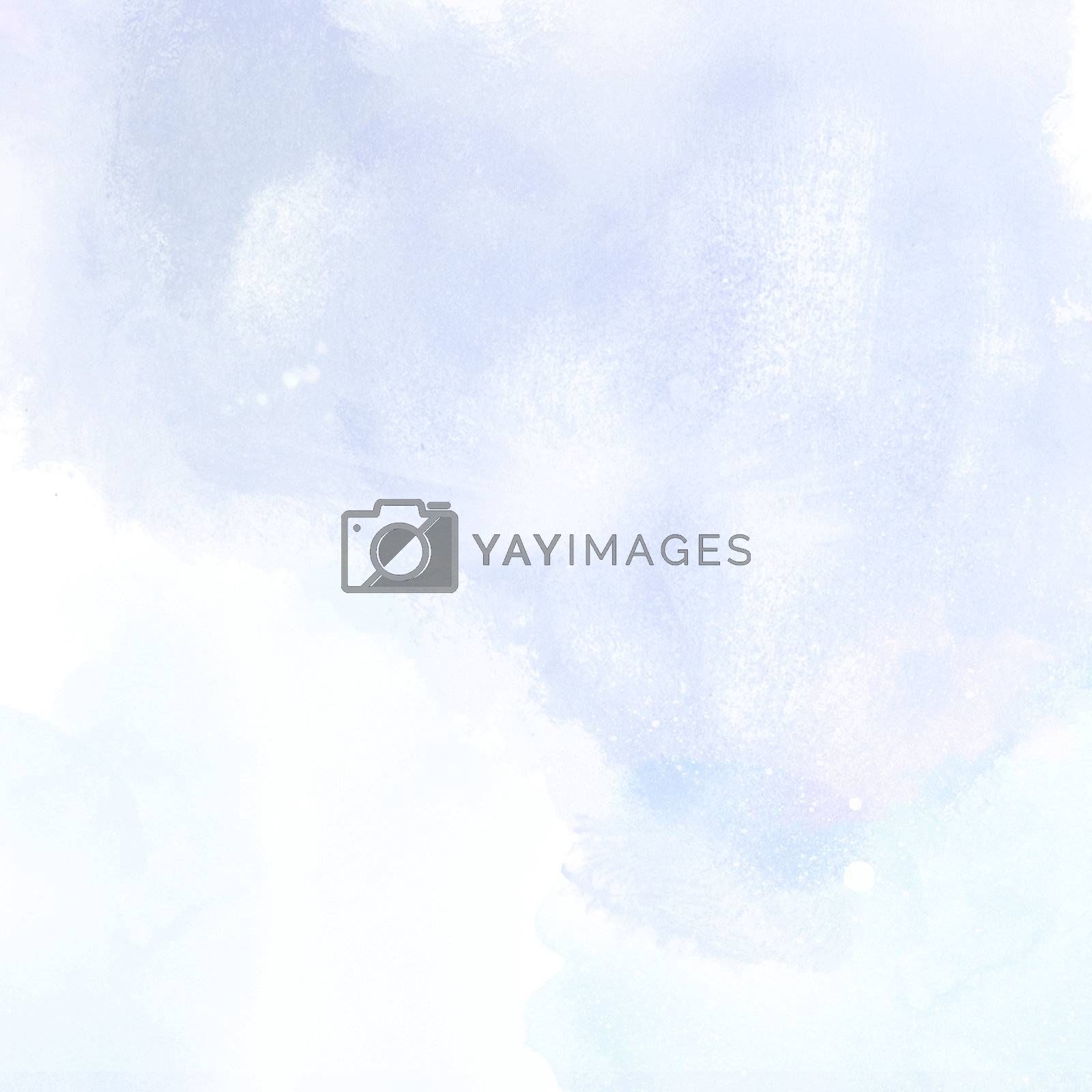 blue grunge background painting texture with water color